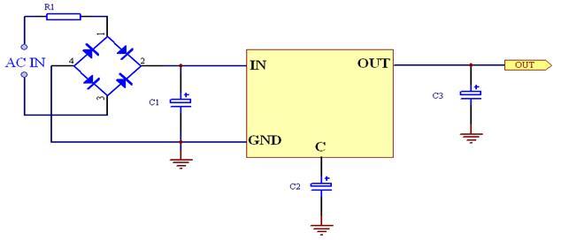 电子元器件 集成电路(ic) 单火线开关电源模块 pi-3v3-b4 3.